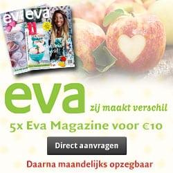 Gratis een Eva magazine aanvragen!