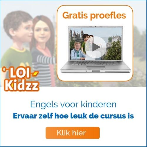 Probeer dan een gratis LOI Kidzz proefles. Zo ervaar je de leukste leerstof en spelenderwijs een cursus volgen. Iets typen of Engels iets voor jou?