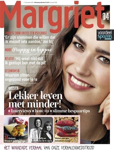 Margriet inspiratietijdschrift nu 6 nummers voor slechts € 10.-