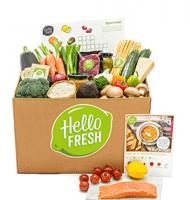 Gratis een HelloFresh FamilyBox winnen! een box vol met eten drinken en veel lekkers.