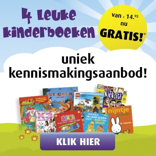 Gratis Kinderboeken | Betaal alleen verzendkosten!