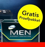 Urine verlies | TENA Men helpt u |Gratis sample!