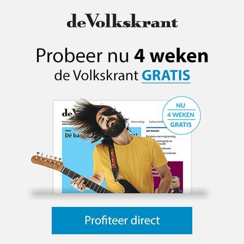 Lees Gratis de vernieuwde gratis Volkskrant! Ontvang de gratis krant 4 weken voor eenmalig € 1,- of € 0,50 voor alleen de zaterdagkrant.