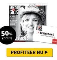Gratis HEMA cadeaukaart t.w.v. € 10,-! 52 weken de Mikro Gids voor € 25.-