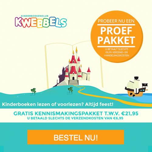 Kwebbels kinderboeken Gratis proefpakket t.w.v. €21.95