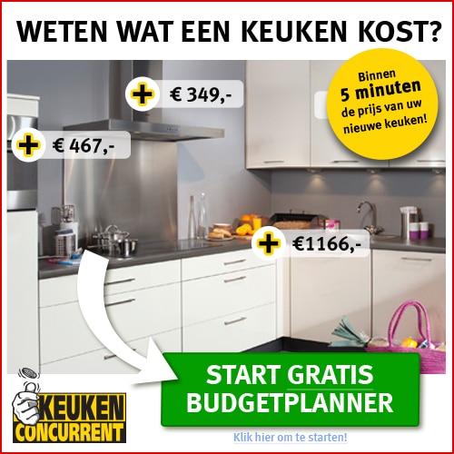 Gratis Budgetplanner van KeukenConcurent!