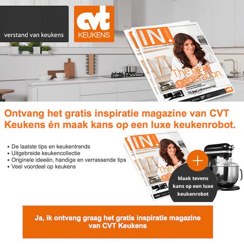 CVT Keukens | Win Luxe Keukenrobot | Gratis keukenboek!