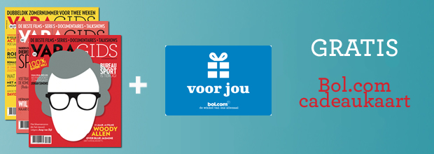 Gratis VVV cadeaubon t.w.v. € 20.- bij de VARAgids