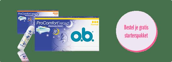 Je eerste menstruatie is best spannend!Wat moet je doen en wat kun je gebruiken.O.b.geeft je de mogelijkheid omhelemaal gratiskennis te maken met tampons.