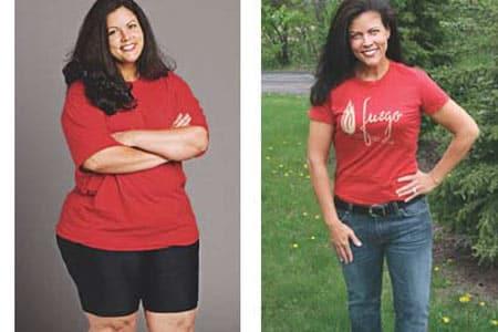 Raspberry Formule | Reinig & Verjong Je Lichaam bekijk hier de 2 dames en zie het verschil