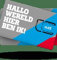 Gratis €20.- beltegoed bij Tele2 prepaid!