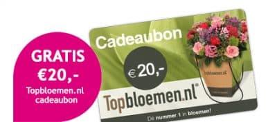 TrosKompas voor €20 + Topbloemen cadeaubon €20.-!