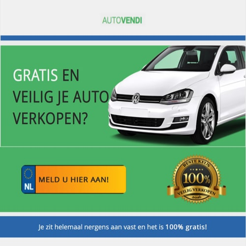 Je auto verkopen voor een goede prijs doe je bij AutoVendi! Zij doen een gratis bod zonder kosten en verdere verplichtingen. Zo kun je eenvoudig en snel je auto verkopen.