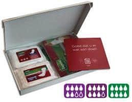 incontinentie producten in een doos!