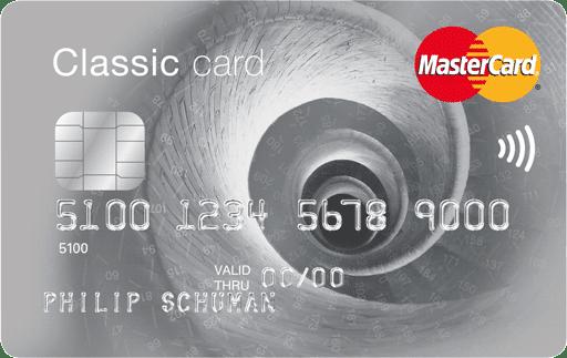 MasterCard 1 jaar gratis + €25.- cadeau