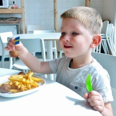 Bij IKEA kunnen kinderen gratis eten!