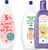 Gratis Andrélon Shampoo of Dove Douchegel!