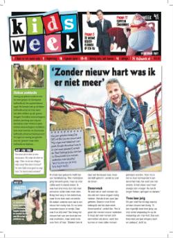 Gratis het grote Kidsweek vakantieboek t.w.v. € 9.95