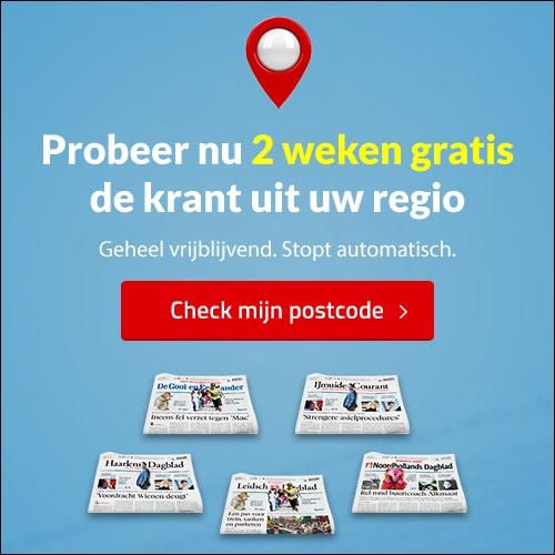 Je favorieten regio krant nu 2 weken gratis lezen? Met een ruime keuze uit 9 kranten lees je alles over het wereld, Nederland en jou regionieuws.