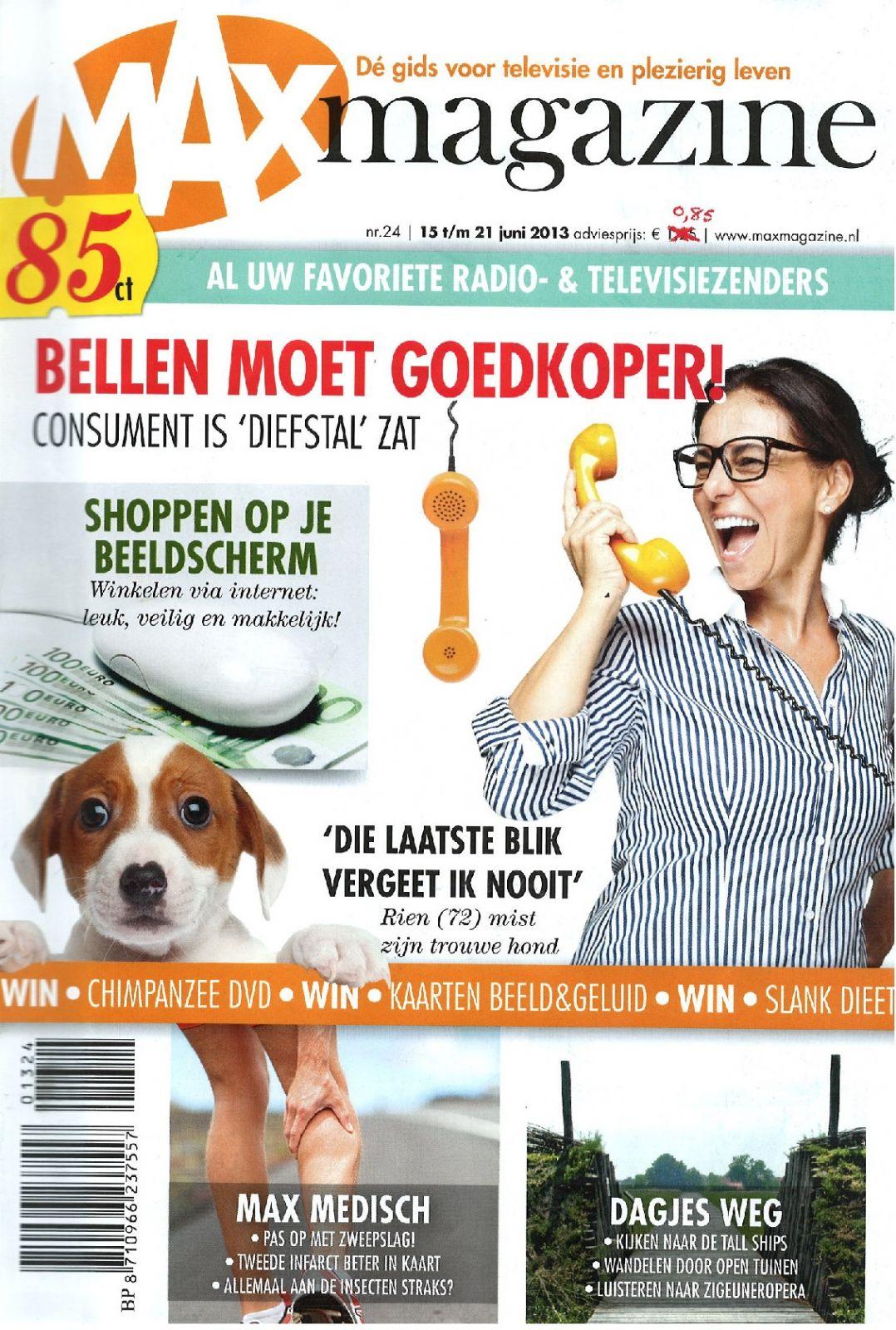 Vraag gratis het MAX magazine aan!