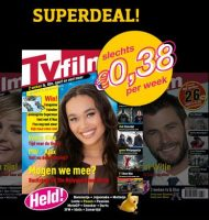 Tvfilm magazine 26 weken voor maar € 10.-