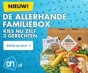 Allerhande box met gratis cadeaupakket t.w.v. € 25,-