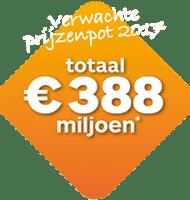 Staatsloterij Miljoenenspel + gratis lot | Win € 388 miljoen