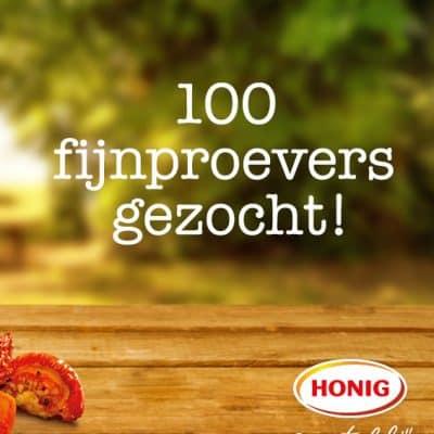 Honig is opzoek naar 100 serieuze testers!