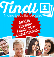Tindl dating met Gratis lifetime Fullmembership!