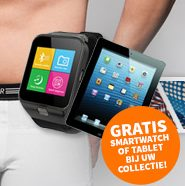 Boxershorts €4,95 + Gratis tablet of smartwatch!