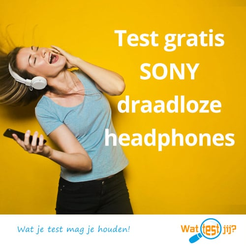 Maak kans op gratis Sony koptelefoon, wil je hem testen?