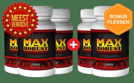 Max Robust Muscle stimuleert de spiermassa