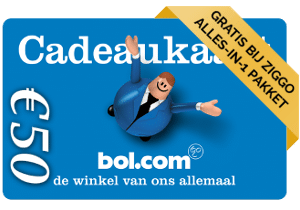 Ziggo Alles in 1 met Gratis Bol.com kaart t.w.v. € 50.-
