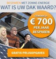 Ook Zonne energie? Wat is je dak waard?