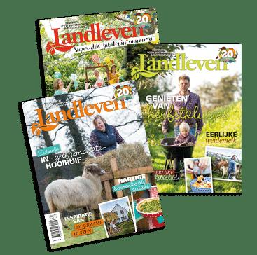 Landleven tijdschrift met gratis agenda 2021 t.w.v. € 12,95
