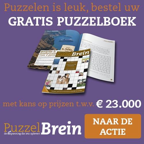 Gratis cadeau exemplaar van PuzzelBrein