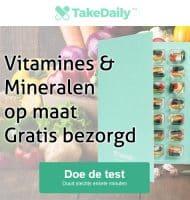 TakeDaily | Vitamines & Mineralen gratis bezorgd. Doe de gratis test!