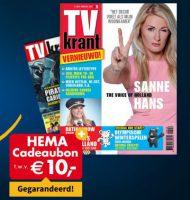Tv Krant aanbieding met Gratis HEMA cadeaubon