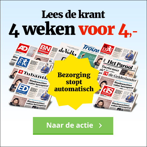 Brabants Dagblad nieuws 4 weken voor 4 euro!