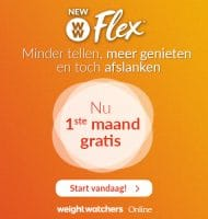 Bij Weight Watchers 1 maand Gratis Slim afvallen
