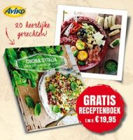 Gratis Aviko Italiaans kookboek t.w.v. €19.95!
