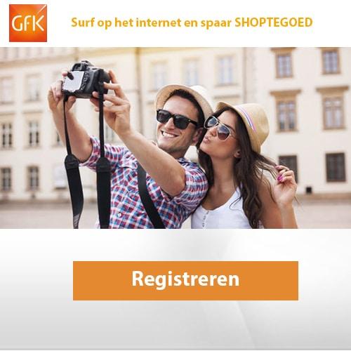 Schrijf je in bij GfK Digital en ontvang gratis een start beloning die kan oplopen tot 2000 punten ( €10.- ).