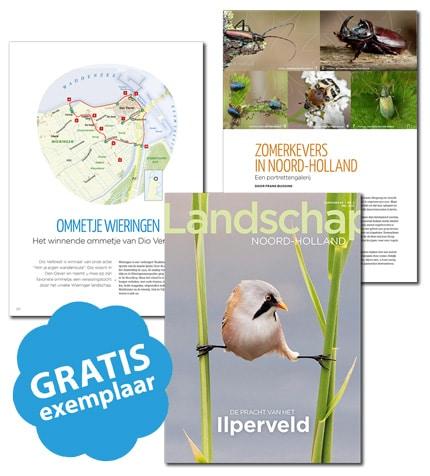 Ervaar de unieke natuur in Nederland met het tijdschrift Landschap.