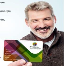 Seniorenvoordeelpas met gratis voordelen!