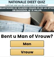 Doe de Nationale Dieet Quiz | Hoe graag wil je afvallen?
