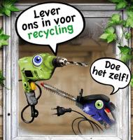 Recycling is belangrijk! Haal daarom een gratis kliko-sticker op bij een van de 600 bouwmarkten. Maak een selfie met je eigen kliko en maak kans op een dagje uit!