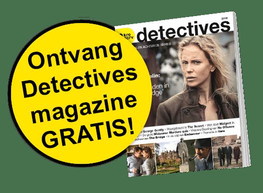 KRO Gids Actie met Gratis Detectives tijdschrift cadeau