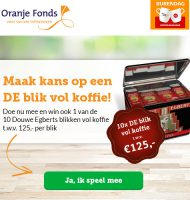 Win blik Douwe Egberts burendag Koffie t.w.v. € 125.-