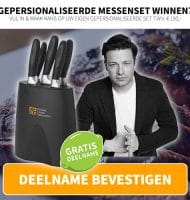 Win Jamie Oliver messenset t.w.v. € 150,-