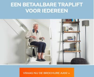 3 gratis offertes | Betaalbare traplift voor iedereen